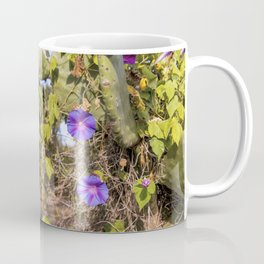 Fig trees in the countryside near the medieval white village of Ostuni Coffee Mug