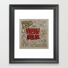 Apocawhoops! Framed Art Print