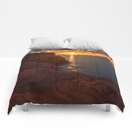 Seacow Head Sunset Comforters