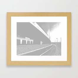 Bridge 10 Framed Art Print