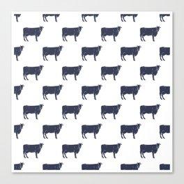 Cow Pattern   Cow Spots Farm Farmer Animal Milk Canvas Print