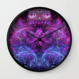 Sister Lin Watching Over Orphaned Eggs Wall Clock