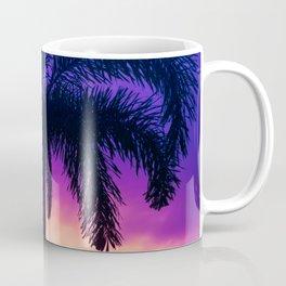 Palm Tree Sunset 1 Coffee Mug