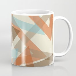 Scattered Triangles Coffee Mug