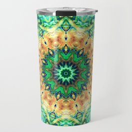 Turtle Kaleidoscope Travel Mug