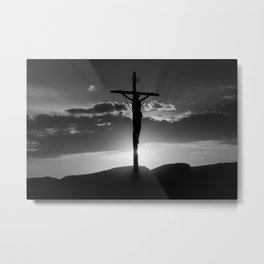 Christ of the Cross. Metal Print
