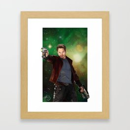 Star Lord | Guardians of the Galaxy Framed Art Print