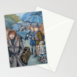 The Umbrellas Stationery Cards