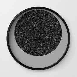 Big Ball in Black and White Wall Clock