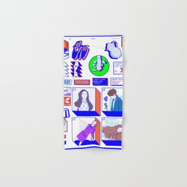 f(x) — 4 Walls (Sticker Pack Ver.) / Spectrum Hand & Bath Towel