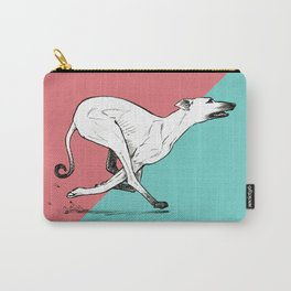 Run Greyhound! Carry-All Pouch