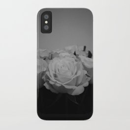 Black and White Roses (5) iPhone Case