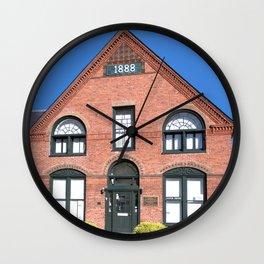 Ticonderoga Heritage Museum (front) Wall Clock