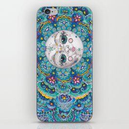 Moon Beams iPhone Skin
