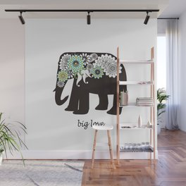Paisley Elephant - Big Love Wall Mural