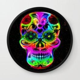 Skull20151213 Wall Clock