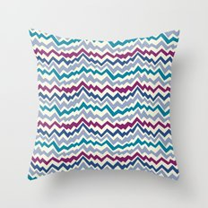 Abstract Mountain Pattern Throw Pillow