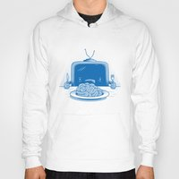 soul eater Hoodies featuring Brain eater by gebe