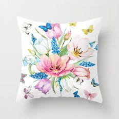 Spring is in the air #35 Throw Pillow