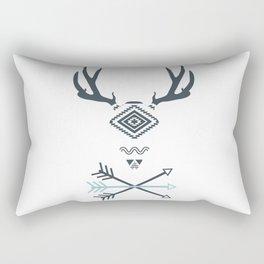 Deer & Arrows Rectangular Pillow
