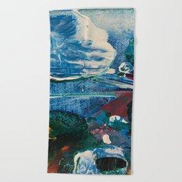 Mini World Environmental Blues 2 Beach Towel