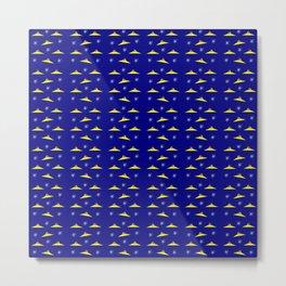 Flying saucer 5 Metal Print