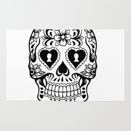 Sugar Skull Art, Sugar Skulls Rug