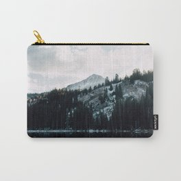 Snowy Mountain Top Carry-All Pouch