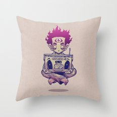 Eye Opener Throw Pillow