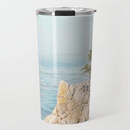 Lone Cypress Tree - Coastal California Landscape Photography Travel Mug