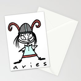 aries in the house(s)! Stationery Cards