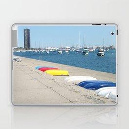 Chicago, Chicago shoreline, Skyline, Lake Michigan Laptop & iPad Skin