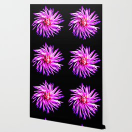 Electro Floral Fun Wallpaper
