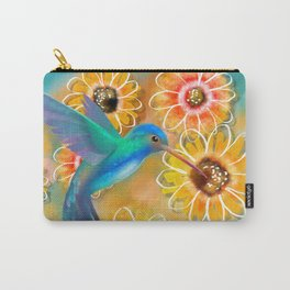 Hummingbird Bounty Carry-All Pouch