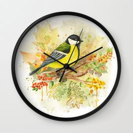 Bird 3 Wall Clock