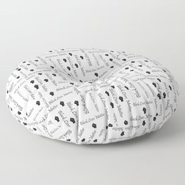 Black Lives Matter BLM African American Protest Floor Pillow