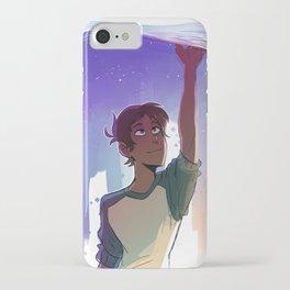 A Blue Boi iPhone Case