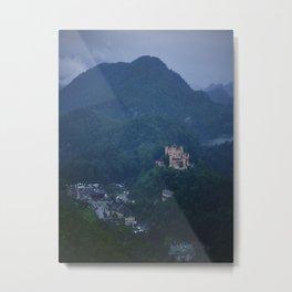 Schloss Hohenschwangau Metal Print
