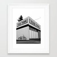 tool Framed Art Prints featuring Tool Town by Vorona Photography