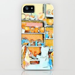 Ceramist craftsman iPhone Case