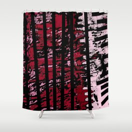 Lines and Mouv Shower Curtain