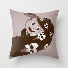 Head Spill Throw Pillow