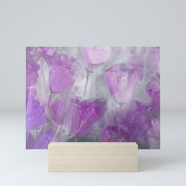 Shades of Lilac Mini Art Print