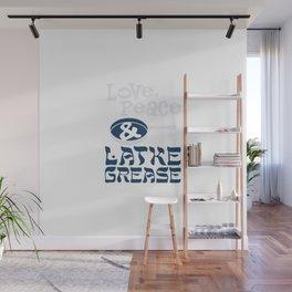 Love, Peace & Latke Grease Wall Mural