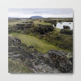 Mývatn, Iceland Metal Print