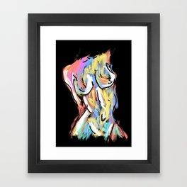 The Female Form Framed Art Print