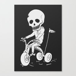 Death Kid Bone Ride Canvas Print