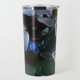 Sea Glass Assortment 4 Travel Mug