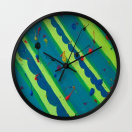 Scattered Mind Wall Clock