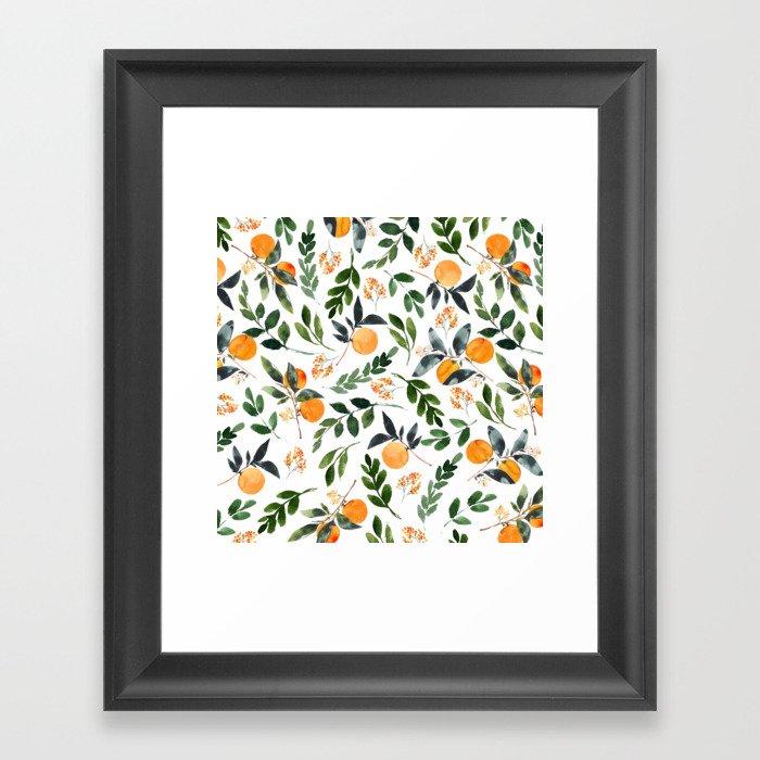 Orange Grove Gerahmter Kunstdruck